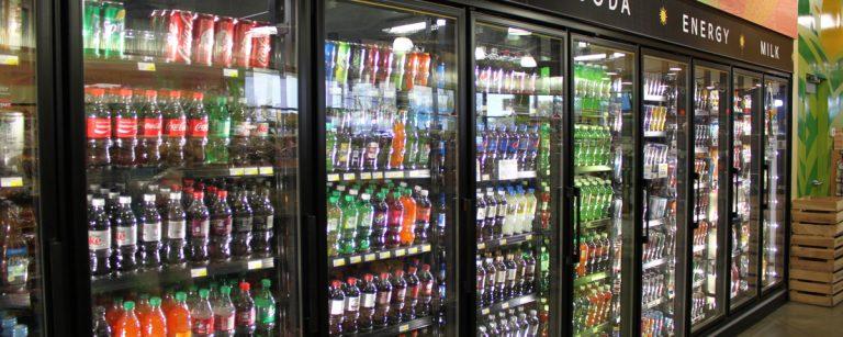 tủ mát siêu thị 2 cánh