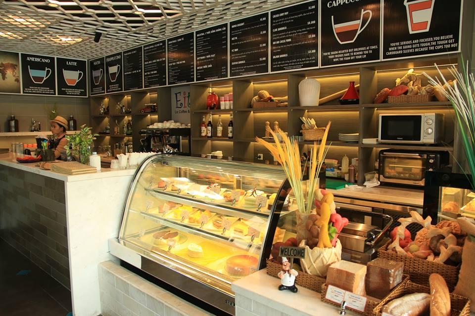 tủ trưng bày bánh kem nằm