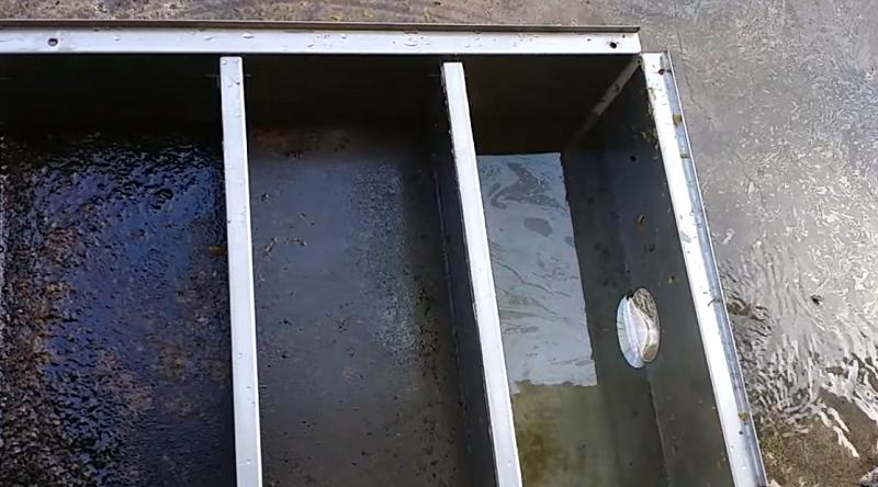 thùng tách dầu mỡ